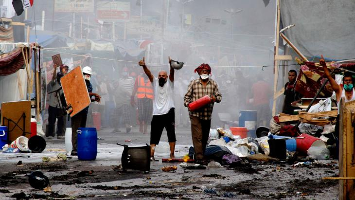 Kampfszenen in Kairo; Foto: AFP/Getty Images