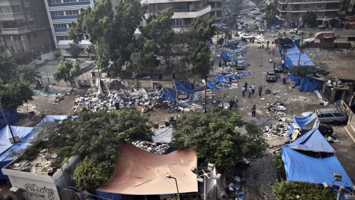 Verwüstung in Kairo nach der Räumung der Pro-Mursi-Camps; Foto: AFP/Getty Images