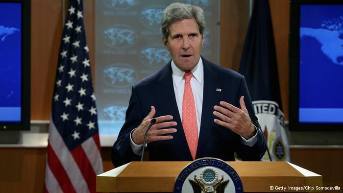 Der amerikanische Außenminister John Kerry; Foto: © Getty Images/Chip Somodevilla
