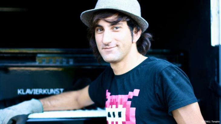 Davide Martello; Foto: DW/Julian Tompkin