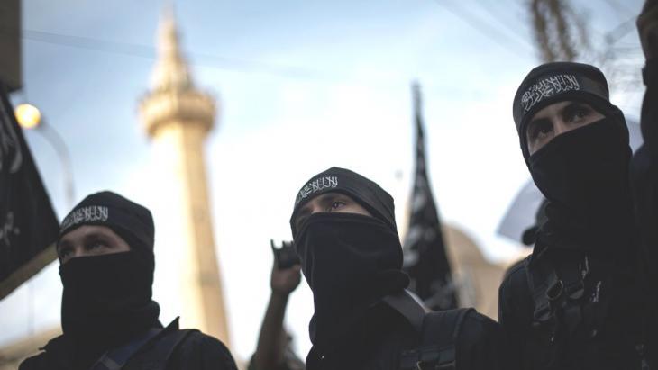 Mitglieder der Hamza-Brigade in der syrischen Stadt Deir Ezzor; Foto: © Zac Baillie/AFP/Getty Images