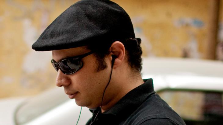 Ahmed Maher, Mitbegründer der Jugendbewegung 6. April; Foto: © dapd
