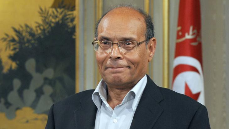 Tunesiens Präsident Moncef Marzouki; Foto: Fethi Belaid/AFP/Getty Images