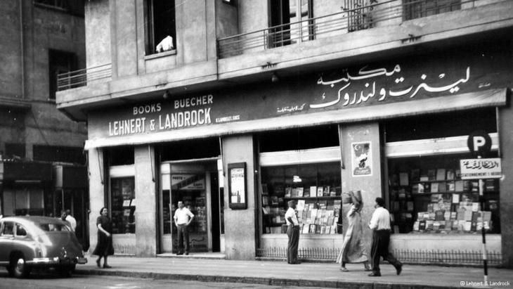 Die Buchhandlung Lehnert & Landrock im Zentrum Kairos; Foto: Lehnert & Landrock