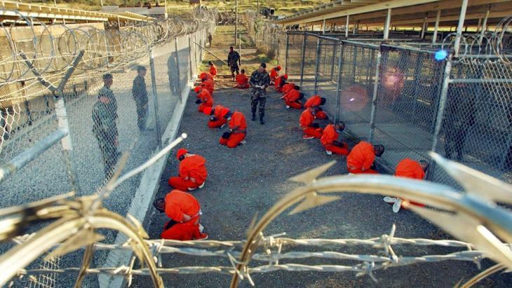 US-Gefangenenlager Guantanamo auf Kuba; Foto: dpa/pocture-alliance