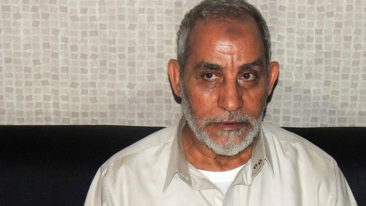 Der Chef der Muslimbrüder, Mohammed Badie; Foto: Reuters