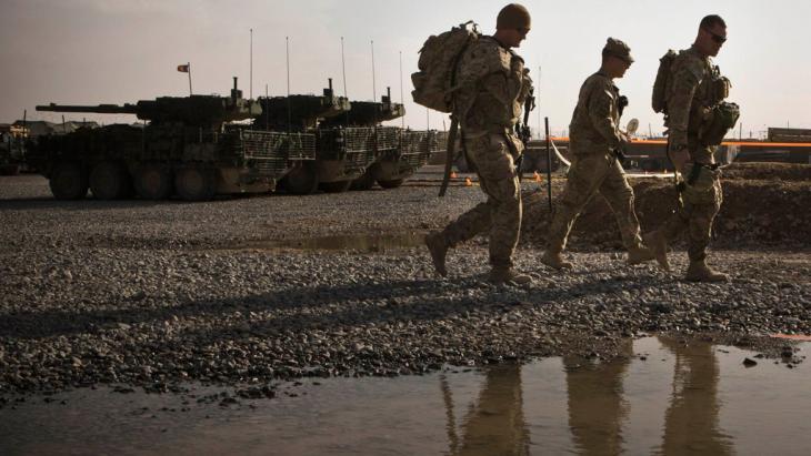 US-Truppen in der afghanischen Provinz Kandahar; Foto: Reuters