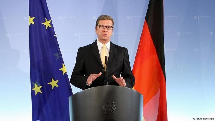 Bundesaußenminister Guido Westerwelle; Foto: dpa/picture-alliance