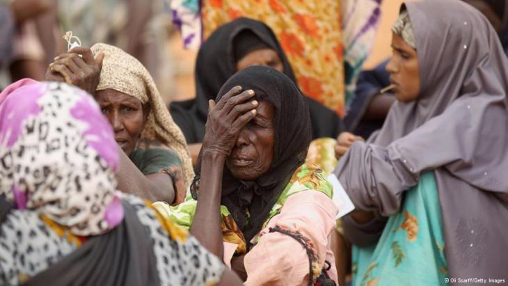 Somalis auf der Flucht; Foto: Getty Images
