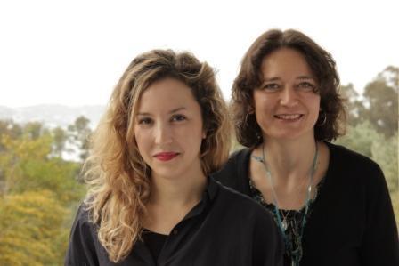 Mentee Yasmine Sfar (l.) und Mentorin Simone Brecht; Foto: EMA e.V.