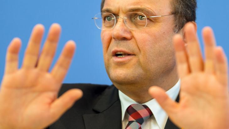 Bundesinnenminister Friedrich; Foto: dpa/picture-alliance