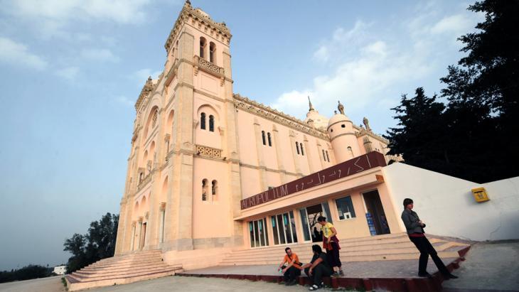 Die Saint Louis-Kathedrale in Carthage, Tunis; Foto: Fethi Belaid/AFP/Getty Images