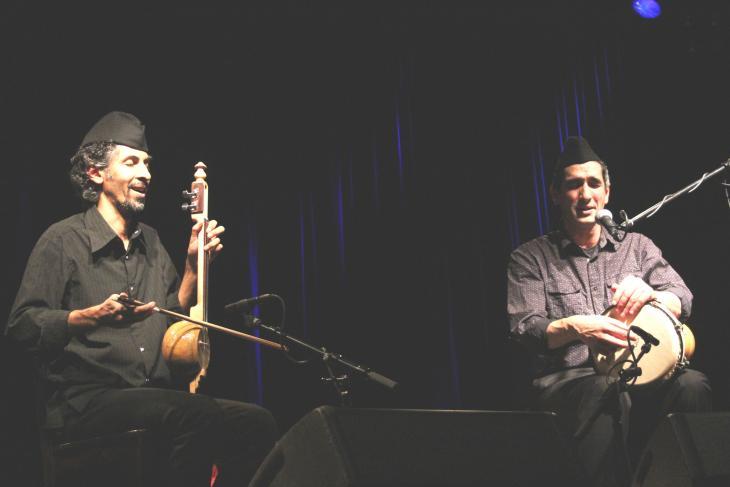 Das Duo Sidare auf dem Morgenland-Festival; Foto: Marian Brehmer