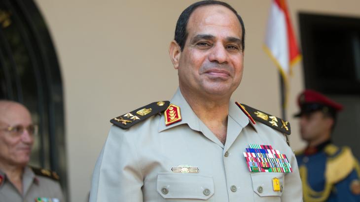 Ägyptens Vize-Ministerpräsident und Verteidigungsminister, General Abdel Fattah al-Sisi, Foto: dpa/picture-alliance