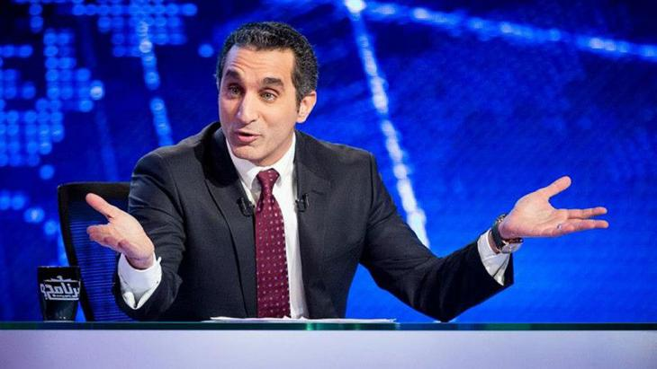 Der ägyptische Satiriker Bassem Youssef; Foto: bassem youssef fan page