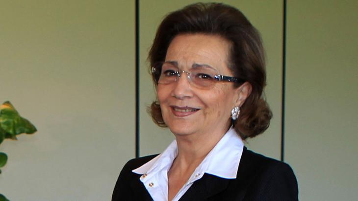 Ägyptens Ex-First Lady Suzanne Mubarak; Foto: KHALED DESOUKI/AFP/Getty Images