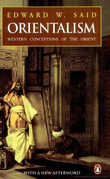 Buchcover Orientalism von Edward Said