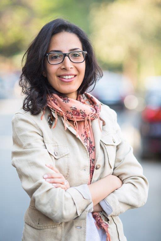 Die ägyptische Filmemacherin Mona El Naggar; Foto: privat