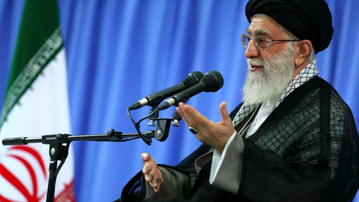 Irans Revolutionsführer Ali Khamenei; Foto: AP/Office of the Supreme Leader