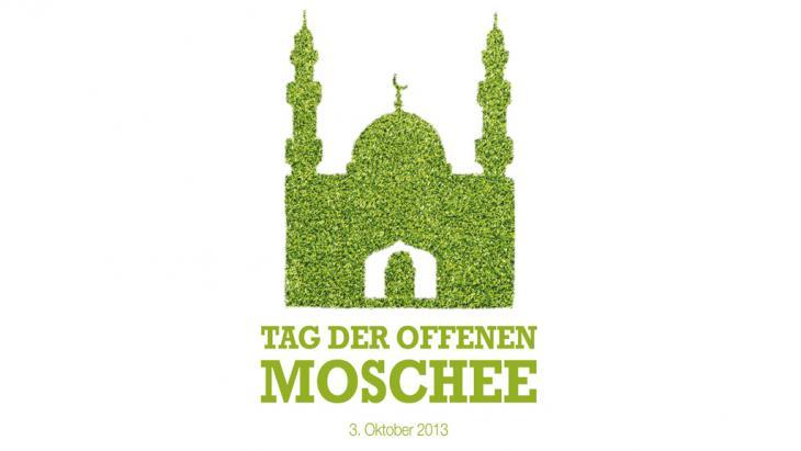Motto am Tag der offenen Moschee 2013; Foto: http://www.tagderoffenenmoschee.de/