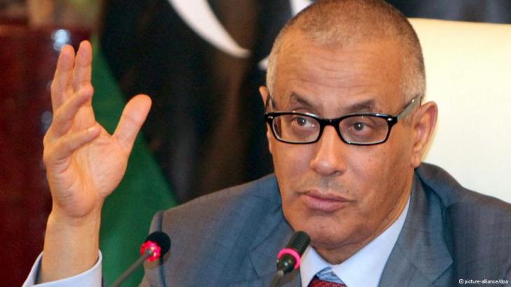 Libyens Regierungschef Ali Seidan; Foto: picture-alliance/dpa