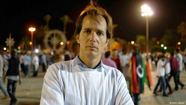 Hatem Abubakr; Foto: Valerie Stocker/DW