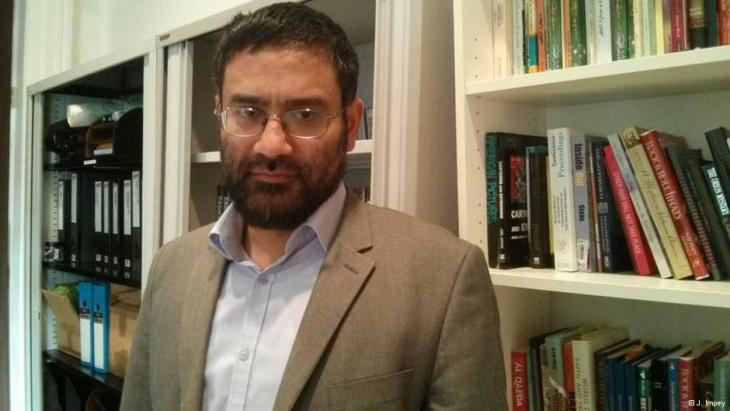 Usama Hasan von der Quilliam-Stiftung in London; Foto: Joanna Impey