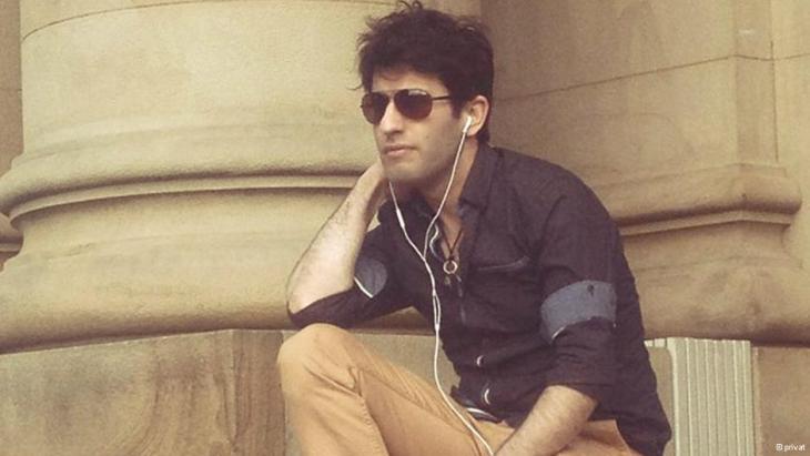 Sänger Raid Yosif; Foto: privat