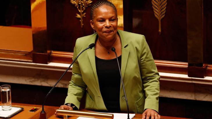 Frankreichs Justizministerin Christiane Taubira; Foto: