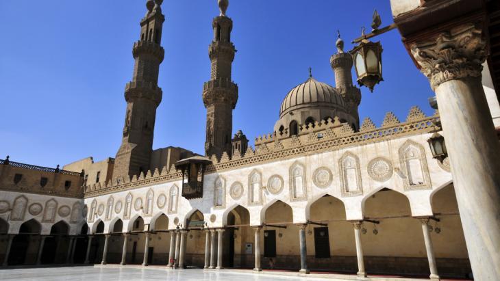 Die Al-Azhar-Moschee in Kairo; Foto: picture-alliance/ZB