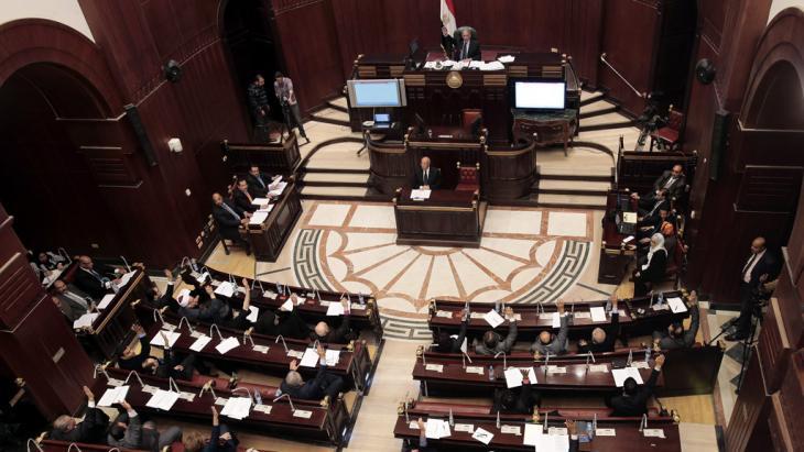 Ägyptischer Ausschuss billigt neue Landesverfassung; Foto: dpa/picture-alliance