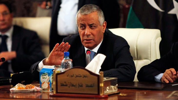 Ministerpräsident Ali Seidan, Foto: Reuters