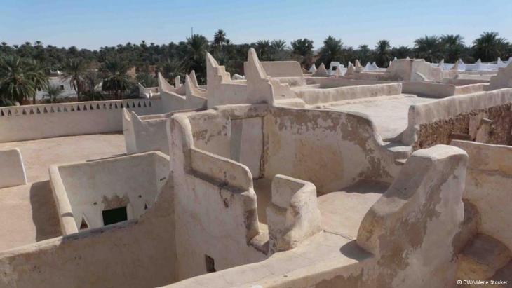 Altstadt von Ghadames, Libyen; Foto: Valerie Stocker/DW