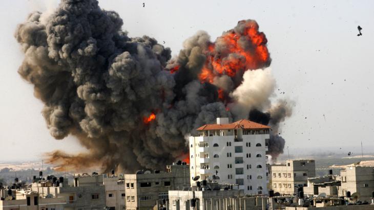 Israelischer Raketenangriff auf Gaza 2009; Foto: Getty Images