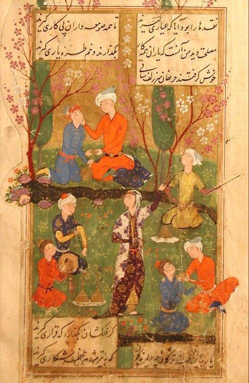 Der Diwan des Hafis; Foto wikimedia