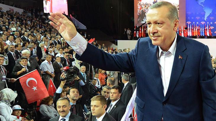 Der türkische Ministerpräsident Erdogan; Foto: dpa/picture-alliance