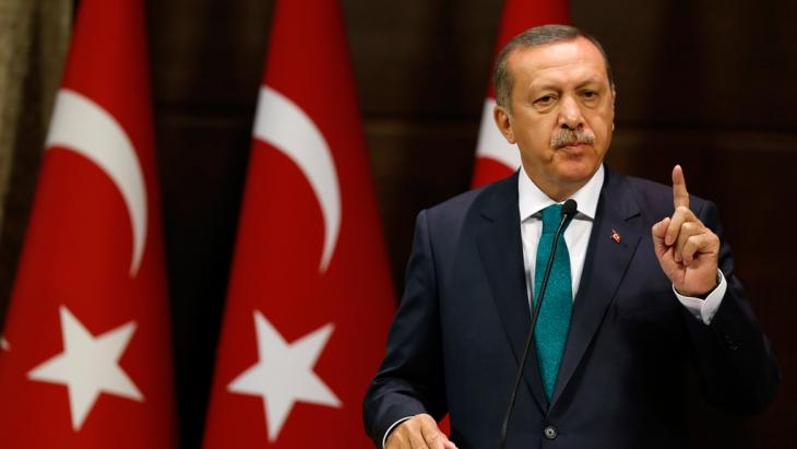 Der türkische Ministerpräsident Erdogan; Foto: Reuters