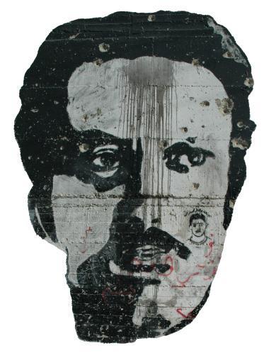 Graffiti Ghassan Kanafani; Foto: wikipedia
