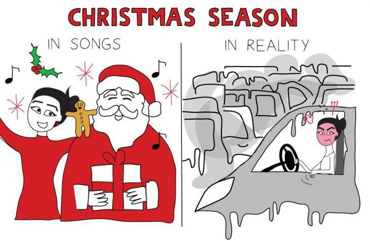 """""""Christmas Season"""" von Maya Zankoul; Foto: CC-BY-NC-ND"""