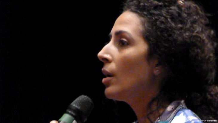 Mona Naggar; Foto: DW/A. Gensbittel