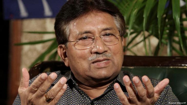 Der frühere pakistanische Militärmachthaber Pervez Musharraf; Foto: picture-alliance/AP