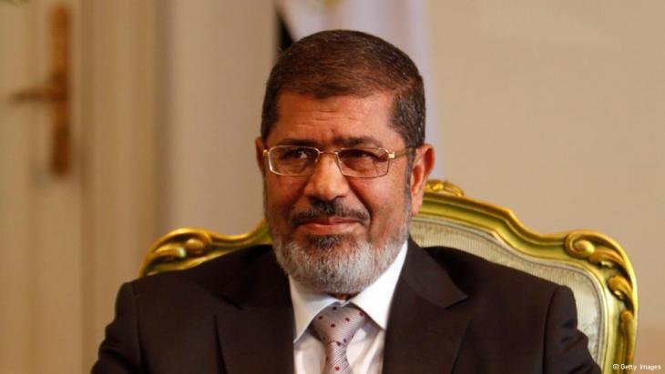 Ägyptens Ex-Präsident Mohammed Mursi; Foto: Getty Images