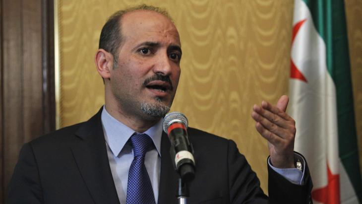Chef der Syrischen Nationalkoalition, Ahmad Dscharba, Foto: Reuters