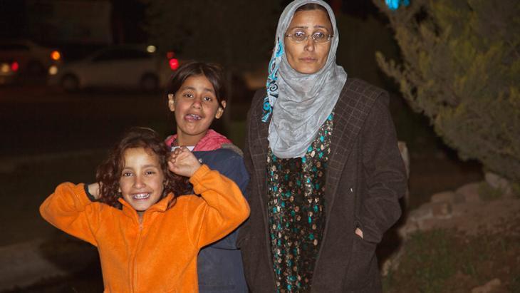 Syrische Flüchtlinge im Irak; Foto: C. Platt