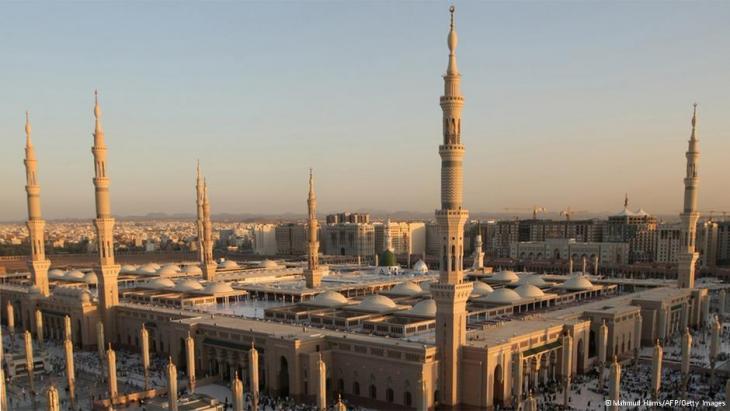 Die Prophet Mohammad-Moschee in Medina, Saudi Arabien; Foto: Mahmud Hams/AFP/Getty Images