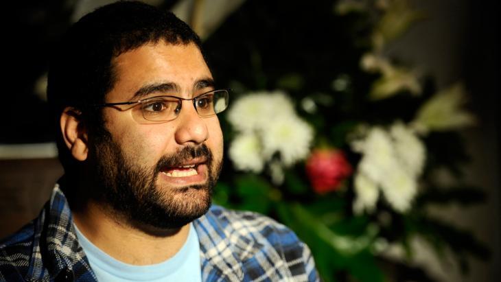 Der ägyptische Blogger Alaa Abdel Fattah; Foto: Filippo Monteforte/AFP/Getty Images