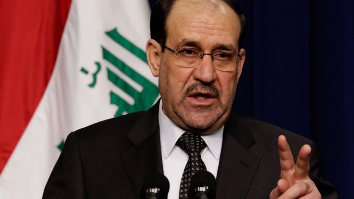 Ministerpräsident Nuri al-Maliki; Foto: Getty Images