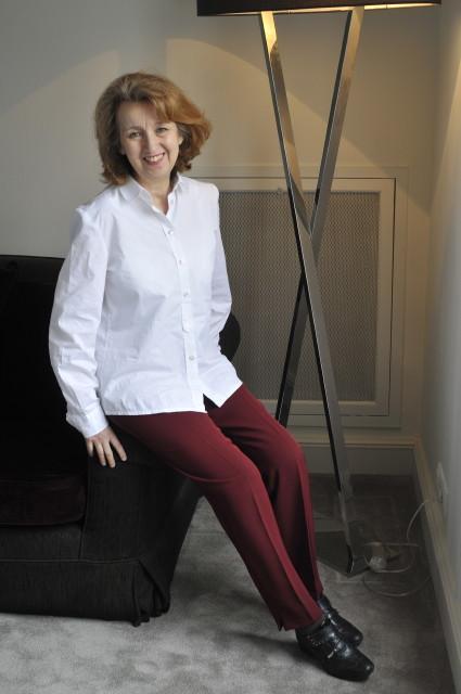 Die tunesische Schriftstellerin Hélé Béji; Foto: Hélé Béji