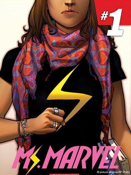 Ms Marvel alias Kamala Khan; Foto: picture alliance/AP Photo