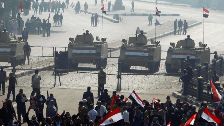 Anhänger Abdel Fattah al-Sisis in Kairo, Foto: Reuters